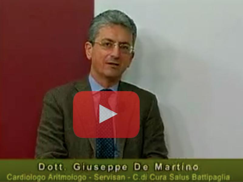 """Intervista al dottor Giuseppe De Martino: """"Ablazione non solo sintomatica ma risolutiva sulla fibrillazione"""""""