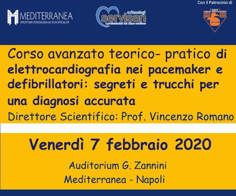 Corso avanzato teorico-pratico di elettrocardiografia nei pacemaker e defibrillatori: segreti e trucchi per una diagnosi accurata