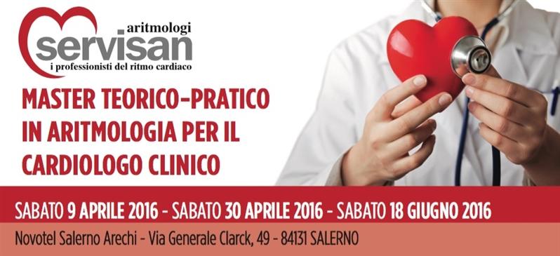 Master Teorico-Pratico in Aritmologia per il Cardiologo Clinico-Salerno